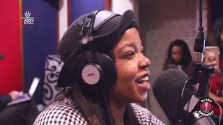 Shekhinah on Being tied down to the pressures of the music industry on the DJSbuBreakfast width=