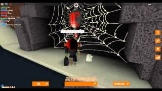 getlinkyoutube.com-ROBLOX : Trick or Treat in Hallowsville; how to do the spiders quests
