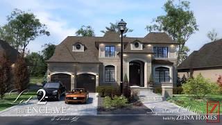 3D Rendering of Zeina Homes Luxury Homes in Oakville Ontario!