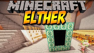 NEUE DIMENSION | Elther Mod | Minecraft Mod Review [DEUTSCH]