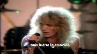 Whitesnake - The Deeper The Love (Subtítulos en Español)