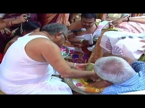 ugadi celebrations 2014   yantrapuja by pujya sridhar guruji part   1