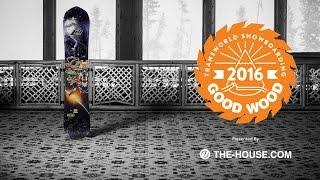 getlinkyoutube.com-Best Men's All Mountain Snowboards : Lib Tech T. Rice Gold Member : 2015-2016 Good Wood Board Test