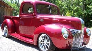 getlinkyoutube.com-1941 Ford Pickup Street Rod