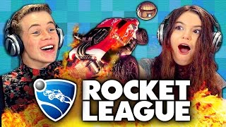 getlinkyoutube.com-ROCKET LEAGUE (Teens React: Gaming)