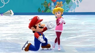 getlinkyoutube.com-Mario and Sonic at the Sochi 2014 Olympic Winter Games: Figure Skating Pairs #21