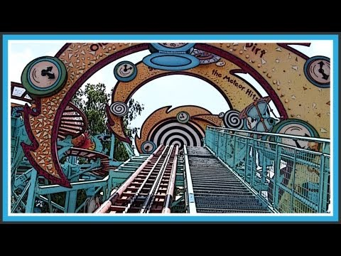 HD Primeval Whirl Ride - 'Animal Kingdom' Disney World - Rollercoaster POV - 1080p