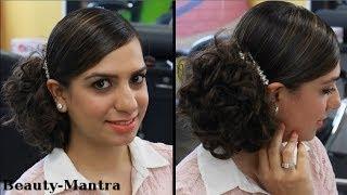 getlinkyoutube.com-Messy Bun Hairstyle for Medium to Long Hair