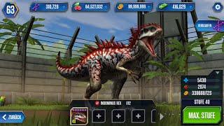 getlinkyoutube.com-Jurassic World: Das Spiel #48 INDOMINUS REX Lvl.40 ENDLICH!! :D [60FPS/HD]   Marcel