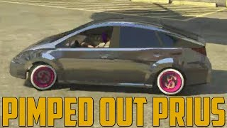 getlinkyoutube.com-PIMPED OUT PRIUS (Grand Theft Auto V Online)