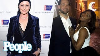 getlinkyoutube.com-Serena Williams Shows Off Her Engagement Ring, Mariah Carey Post NYE Show   People NOW   People