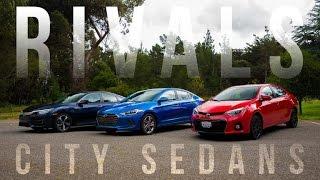 Rivals: Honda Civic vs. Hyundai Elantra vs. Toyota Corolla