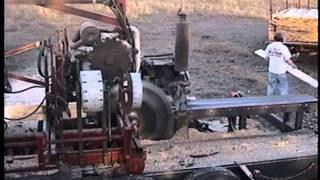 getlinkyoutube.com-Romportl Circular Sawmill demo Spooner Wi