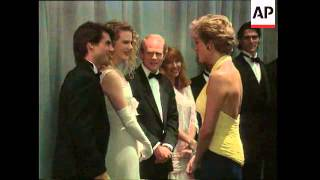 Mimi Rogers, Premiere Of ''Far And Away'' With Nicole Kidman, Interview With A Vampire, Cruise At Va