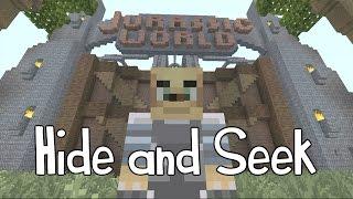 getlinkyoutube.com-Minecraft Xbox - Hide and Seek - Jurassic World