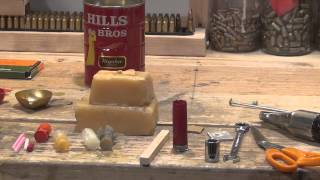 getlinkyoutube.com-How to reload a 12 gauge shotgun shell in a SURVIVAL situation