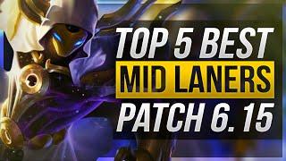 Patch 6.15 TOP 5 最佳中路英雄