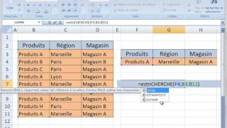 getlinkyoutube.com-Excel 2007 : Recherche avec 3 critères - Fonctions SOMMEPROD ESTNUM