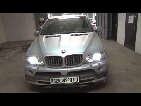 Улучшение света BMW X5 E53. BI-LED вместо BI-XENON