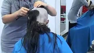 getlinkyoutube.com-Wet Hair Shaved 3