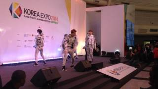 getlinkyoutube.com-KBEE 2014 - VIXX (without HongBin and Ken) - On and On