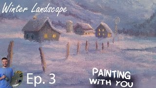 getlinkyoutube.com-Painting With You - Winter | Ep.3 | Distant Buildings | Watch, Vote, Create