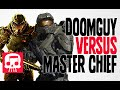 DOOMGUY VS MASTER CHIEF Rap Battle by JT Machinima and Teamheadkick