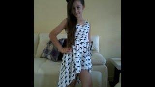 getlinkyoutube.com-Vestido De Moda Sencillo  DIY  Simple Fashion Dress -Jazmin Gastelum