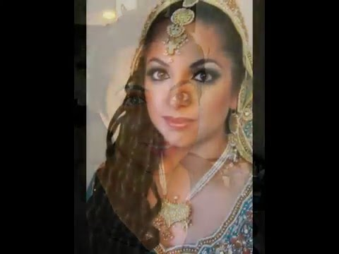 how to - Pakistani Indian Bridal Makeup Tutorial pics- before & after