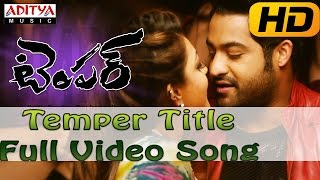 Temper Full HD Video Song - Temper Video Songs - Jr.Ntr, Kajal Agarwal