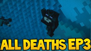 Minecraft Story Mode - ALL DEATH SCENES! - Episode 3