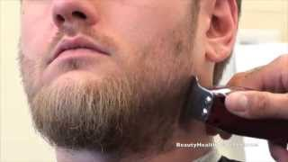 getlinkyoutube.com-Haircutting Class: Men's beard trim, eyebrow trim by Chris Viramontes 2-2