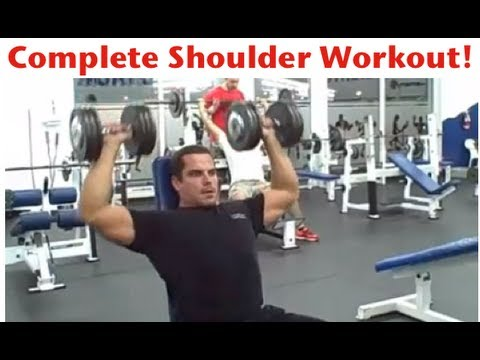 Complete Shoulder Workout - Front, Side, & Rear Delts