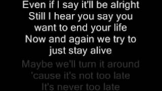 getlinkyoutube.com-Three Days Grace-Never Too Late Lyrics