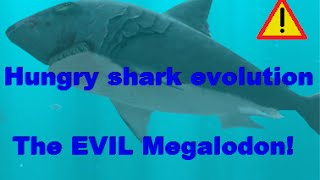 getlinkyoutube.com-Hungry shark evolution (the Evil megalodon)