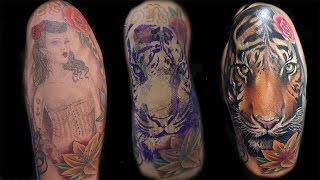 "getlinkyoutube.com-Cover up ""tattoo time lapse"" by Marcos Gutiérrez"