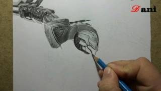 getlinkyoutube.com-Pencil Drawing : Project Zed