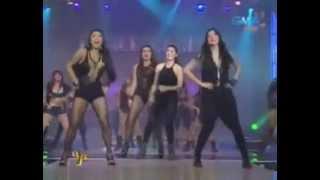 getlinkyoutube.com-Marian, Glaiza and Rochelle Dance: I AM WOMAN