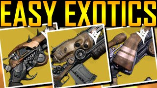 getlinkyoutube.com-Destiny - HOW TO GET EASY EXOTIC GUNS!