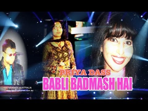BABLI BADMASH HAI PRIYA DASS  LIVE AT DHOOM MACHALE 2014 HD