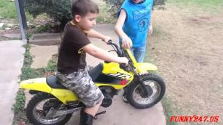 getlinkyoutube.com-Mini motorcycle racing kids