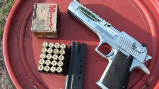 DESERT EAGLE .50AE VS. 2 LITERS