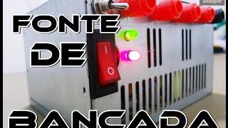 getlinkyoutube.com-COMO CONVERTER UMA FONTE ATX EM UMA FONTE DE BANCADA?