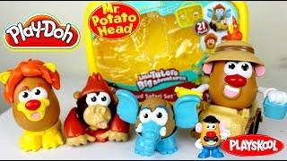 getlinkyoutube.com-Play Doh Mr Potato Head Storage & Play   Juguetes Plastilina Play Doh   Mundo de Juguetes