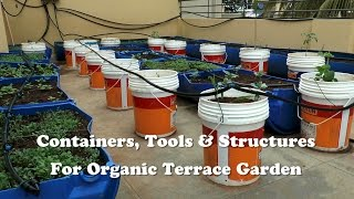 getlinkyoutube.com-Containers, Tools & Structures for Organic Terrace Garden