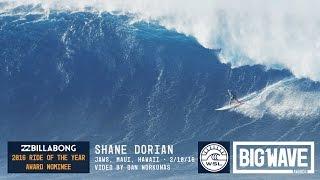 getlinkyoutube.com-Shane Dorian at Jaws 2 - 2016 Billabong Ride of the Year Award Nominee - WSL Big Wave Awards