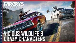 Far Cry 5 - Vicious Wildlife and Crazy Characters