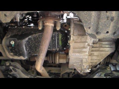 Geely MK Cross. Смена масла в коробке передач и моторе.