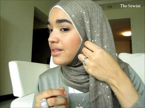 Super Fast, Super Easy Hijab Tutorial - Inspired by Maria Elena aka Shortnap