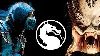 getlinkyoutube.com-Mortal Kombat X featuring THE PREDATOR?!